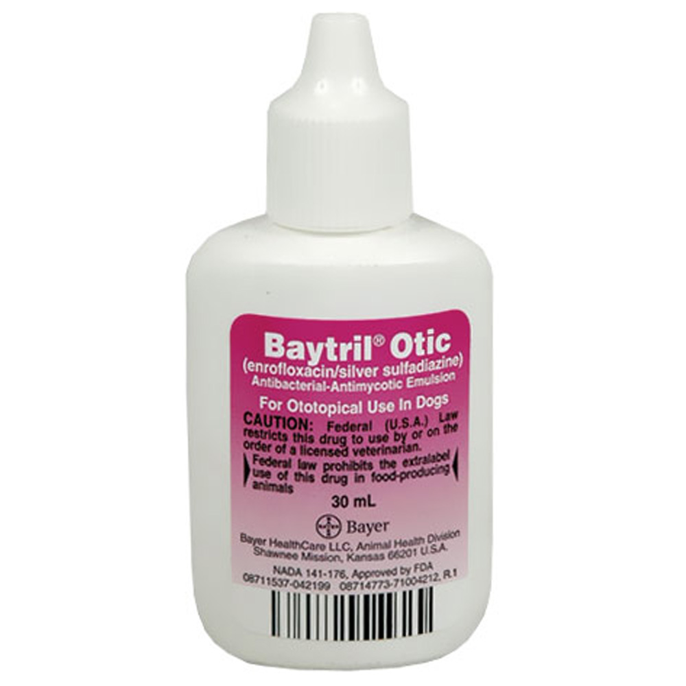 Baytril Otic. Drop 30ml