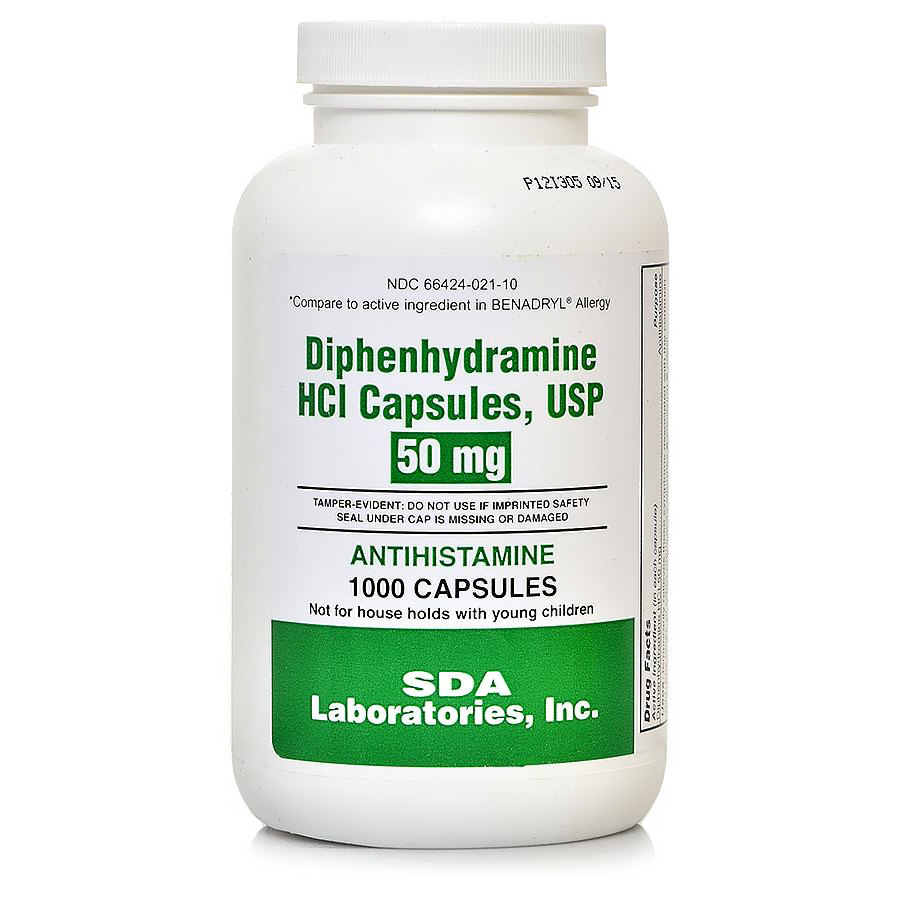 diphenhydramin benadryl overdose Benadryl (diphenhydramine) is a commonly available medication used largely for the treatment of allergies and sleep problems it is available over the counter meaning that no prescription is required for the purchase of benadryl.