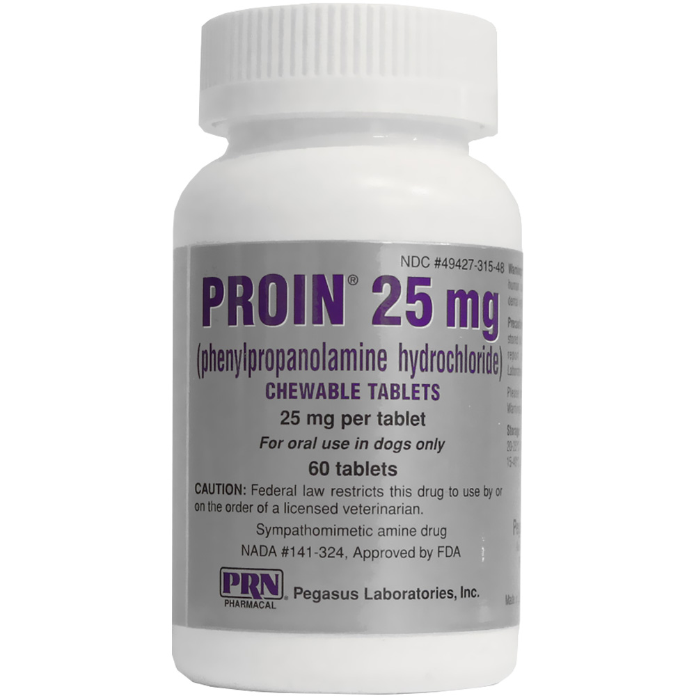 Proin 25 Mg Per Tablet