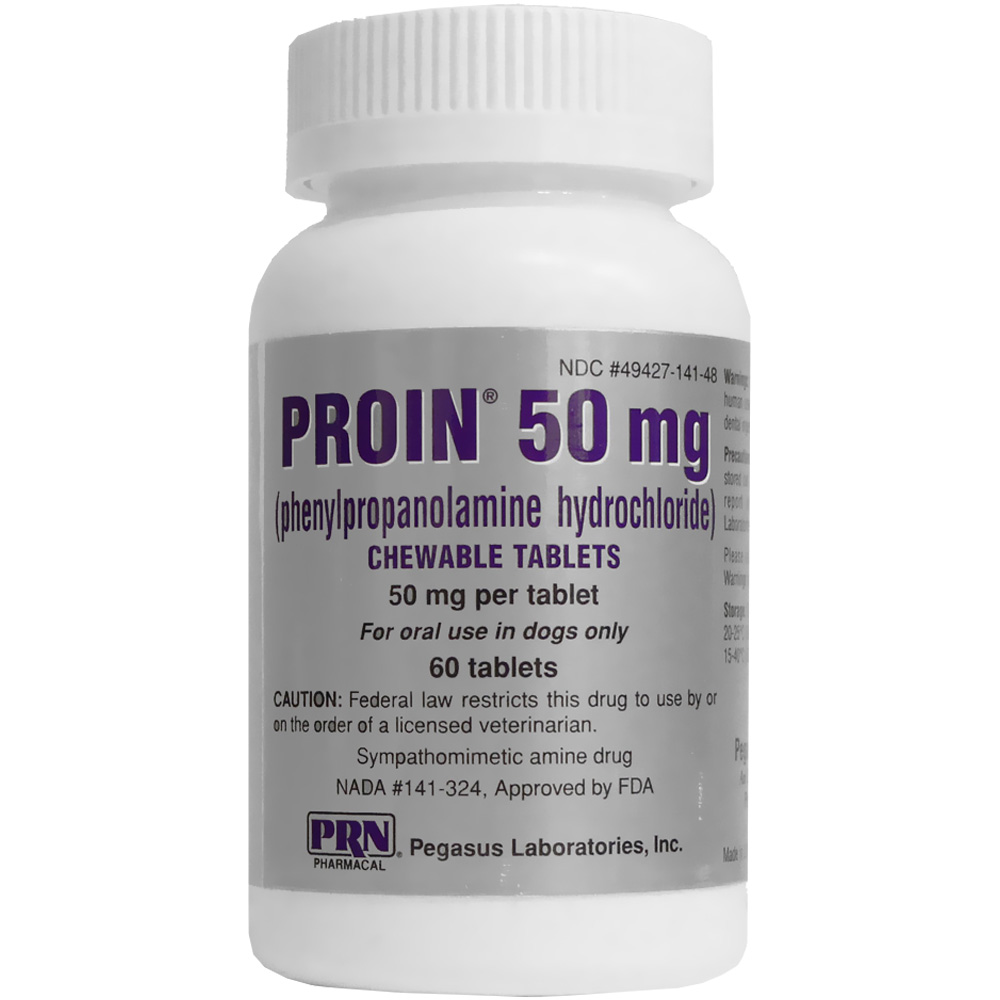 Proin 50 Mg 60 Chewable Tablets