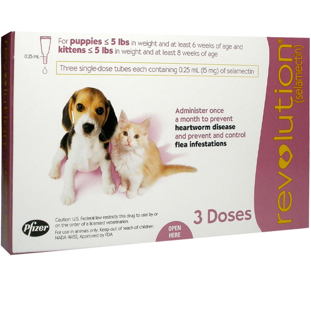 Revolution For Dogs On Cats Dosage