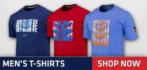 NWSL Official Men's T-Shirts