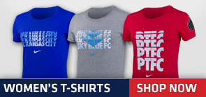 NWSL Official Women's T-Shirts