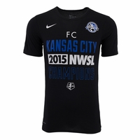 Men's FC Kansas City 2015 NWSL Champions Tee