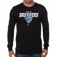 Men's Nike Boston Breakers LS Bold Tee - Black