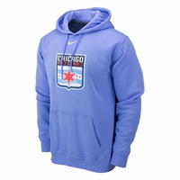 Men's Nike Chicago Red Stars Fleece Hoody - Light Blue