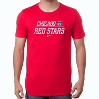 Men's Nike Chicago Red Stars Split Tee - Red