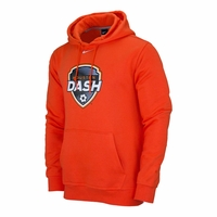 Men's Nike Houston Dash Fleece Hoody - Orange
