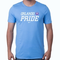 Men's Nike Orlando Pride Split Tee - Valor Blue