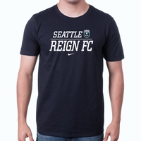 Men's Nike Seattle Reign FC Split Tee - Black