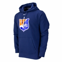 Men's Nike Sky Blue FC Fleece Hoody - Navy