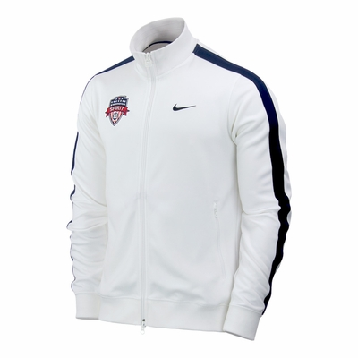 Men's Nike Washington Spirit Team N98 Jacket - White - Click to enlarge