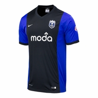 Men's Seattle Reign FC 2014 Jersey - Black/Royal