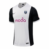 Men's Seattle Reign FC 2014 Jersey - White/Black