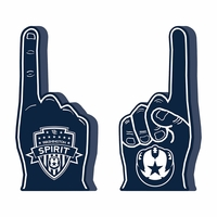 Washington Spirit Foam Finger - Navy