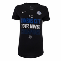 Women's FC Kansas City 2015 NWSL Champions Tee