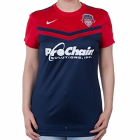 Women's Nike Washington Spirit 2016 Home Jersey