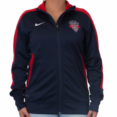 Women's Nike Washington Spirit Walkout Enforcer Jacket - Click to enlarge