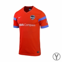 Youth Houston Dash 2014 Jersey - Orange