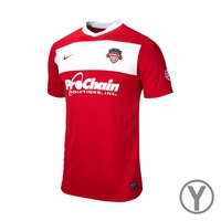 Youth Washington Spirit 2014 Jersey - Red