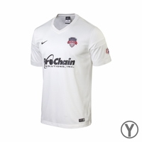 Youth Washington Spirit 2014 Jersey - White