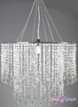 "Chandelier  ""Dazzle"" Diamante Duo - Crystal Iridescent, 24"" Diameter"