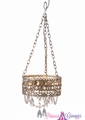 "Chandelier ""Frenchella"" Antique Champagne"