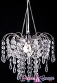 "Chandelier ""Giana"" Crystal Clear 3 Tier Beaded Chandelier"