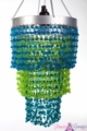 "Chandelier ""Mini Pop"" Multi Blues"