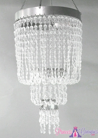 Chandelier Raindrops Clear