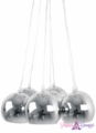 "Sold Out Pendant Lamp ""Kyoto"" - Metallic Bundle Light Fixture - 16 x 48"""