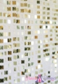 """Shimmy"" Lightweight Shiny Light Gold Metallic Beaded Curtain"