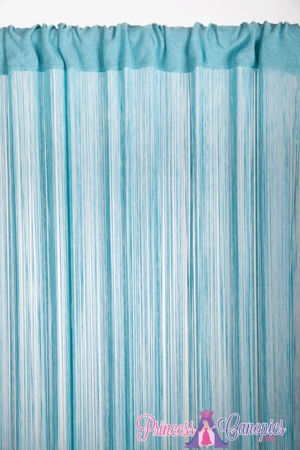 String Curtain Aqua 18 Strings Per Inch! - 36