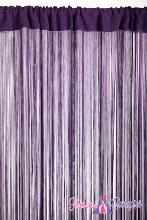 String Curtain  Deep Purple   - 18 Strings Per Inch! - 36  x 90