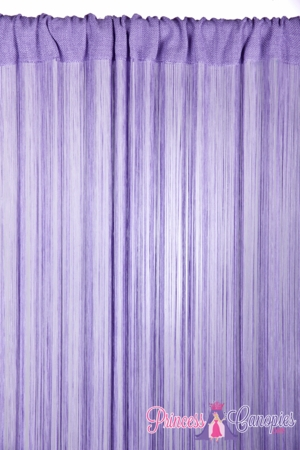 String Curtain Light Lilac - 18 Strings Per Inch! - 36  x 88