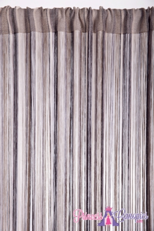 String Curtain Multi-Browns 18 Strings Per Inch! - 36  x 88