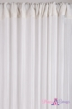 "String Curtain Rayon (Fire Rated) 36""x88"" White"