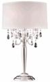 "Table Lamp ""Moxie"" Real Crystal - 16""Lx16""Wx30""H"