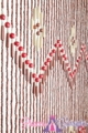 "Wooden Bead Curtain - Shanghai - 35.5"" x 77"" - 52 Strands"