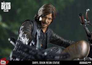 Daryl Dixon Resin Statue McFarlane Collectors Club Exclusive