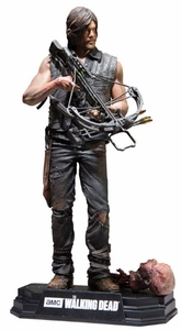 "Daryl Dixon (The Walking Dead TV) 7"" Figure McFarlane Collector Edition Color Tops Series - Red"