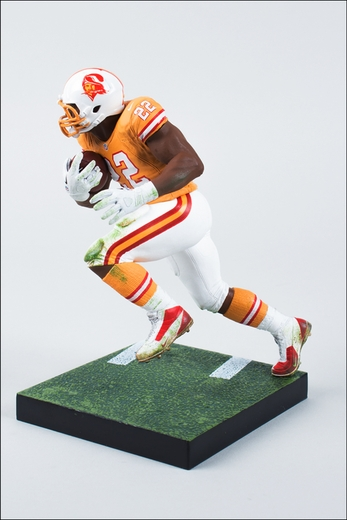 Doug Martin (Tampa Bay Buccaneers - Retro Uniform) NFL 33 McFarlane Collectors Club Exclusive