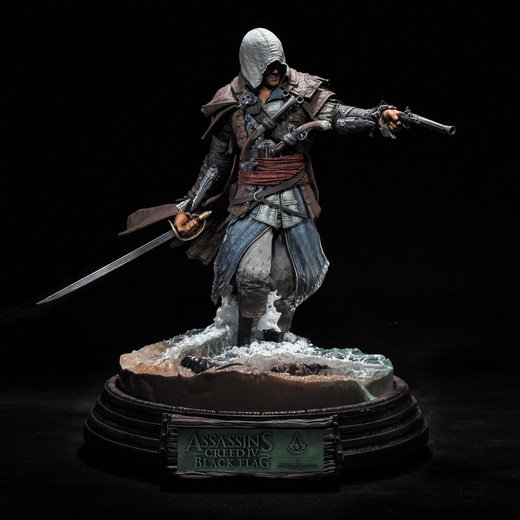 Edward Kenway Assassin's Creed Resin Statue McFarlane Collectors Club Exclusive