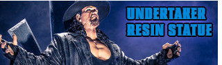 The Undertaker WWE Resin Statue!
