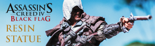Edward Kenway Assassin's Creed Resin Statue!