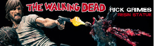 The Walking Dead Comic: Rick Grimes Resin Statue PREORDER