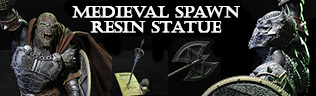 Medieval Spawn Resin Statue PREORDER