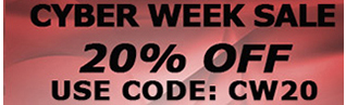 20% OFF!  Use Code CW20