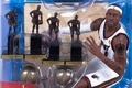 LeBron James (Miami Heat) 2X Championship Trophies/4X NBA MVP Trophies NBA McFarlane Collectors Club Exclusive