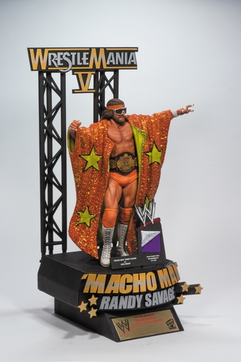 """Macho Man"" Randy Savage WWE Icon Series Resin Statue McFarlane Collectors Club Exclusive"